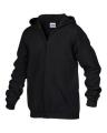 GILDAN ® HEAVY BLEND TM FULL ZIP HOODED YOUTH SWEATSHIRT