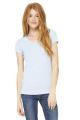 BELLA + CANVAS ® BABY RIB SHORT SLEEVE V-NECK LADIES' TEE